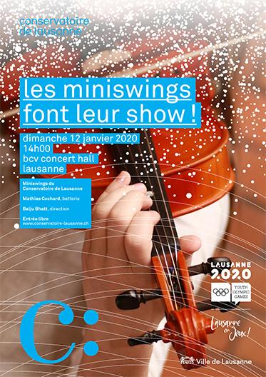 Les Miniswings font leur Show !
