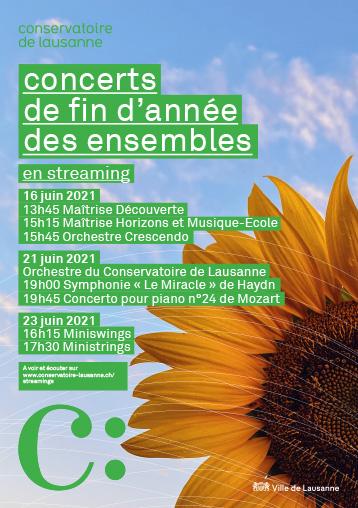Concert de fin d'année des Ministrings