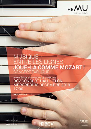 Joue-la comme Mozart !