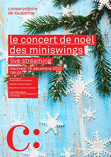 Concert de Noël des Miniswings